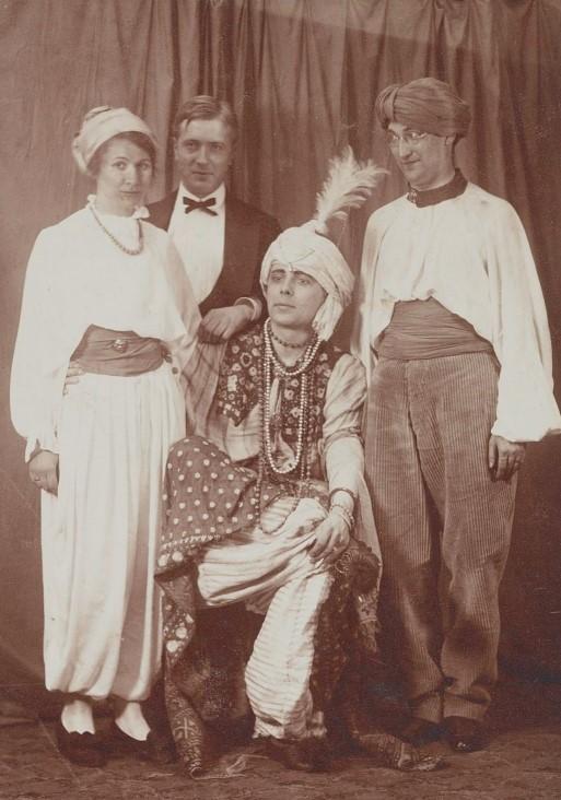 Arnold Ronnebeck, Fest, Berlin, March 1914